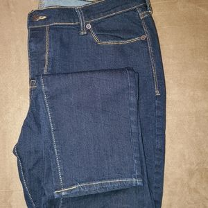 Old Navy FLIRT dark denim Jean's Sz 14